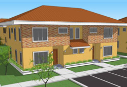 3-Bedroom Semi-Detached Duplex Rendering